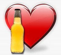 Cerveja coração site metblogs